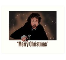 """Merry Christmas love from Hans"" Art Print"