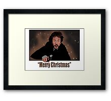 """Merry Christmas love from Hans"" Framed Print"