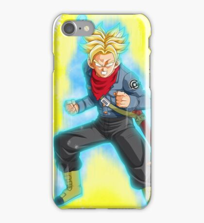 "Dragon Ball Super - Mirai Trunks Super Saiyan ""Blue"" iPhone Case/Skin"