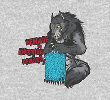 Beware of Knitting Beasts - light fabric Unisex T-Shirt