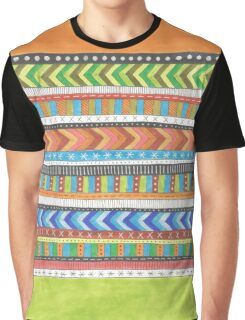 bright patterned stripes Graphic T-Shirt