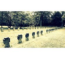 old german cemetery 1941-1944 Photographic Print