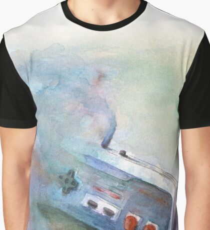 NES Painting Graphic T-Shirt