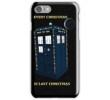 Every Christmas Is Last Christmas Doctor Who iPhone Case/Skin