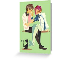 Kitty Repellent  Greeting Card