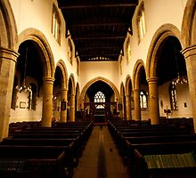 St Oswald's - interior by Peter Reid