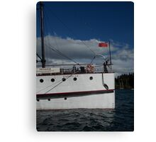 TSS Earnslaw, Lady of the Lake Canvas Print