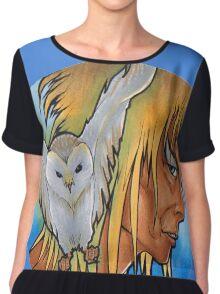 OWL GOBLIN Chiffon Top