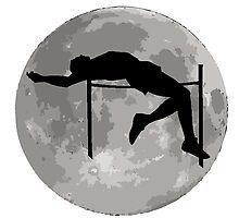 High Jump Moon by kwg2200