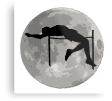 High Jump Moon Metal Print