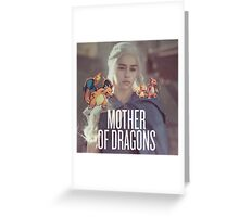 Mother of Dragons x Pokemon Greeting Card