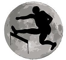 Hurdles Moon by kwg2200