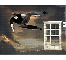 just another parkour in the wall Photographic Print