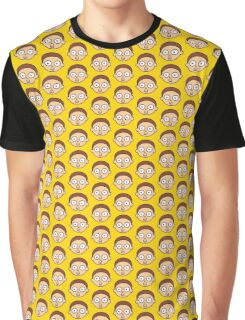 Morty Face Graphic T-Shirt