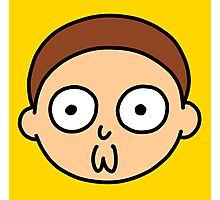Morty Face Photographic Print