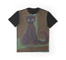 Cat near river Graphic T-Shirt