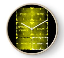 Heroes of Interest Clock