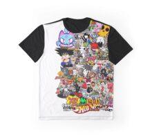 demi explosion de stickers colorer Graphic T-Shirt
