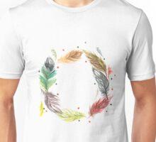 Feathery Wreath Unisex T-Shirt