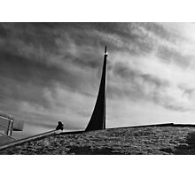Space Tower Photographic Print