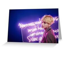 BTS Wings V Greeting Card