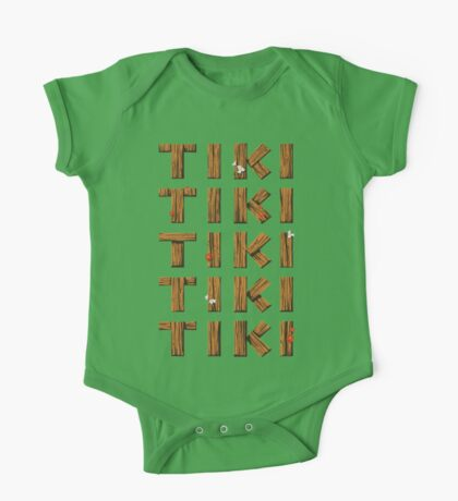 Tiki Tiki Tiki Tiki Tiki One Piece - Short Sleeve