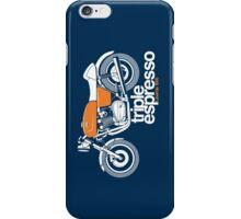 Triple Espressoo Laverda 3CE Cafe Racer iPhone Case/Skin