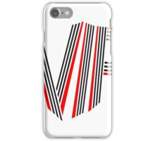 striche wappen emblem design symbol vip linien very important person cool  iPhone Case/Skin