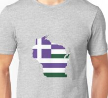 Greek WI (Purple/White/Green) Unisex T-Shirt