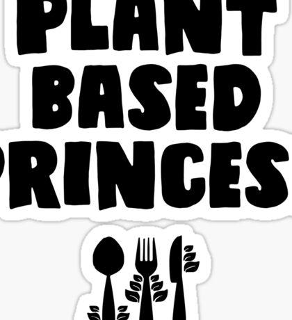 Plant based princess Sticker