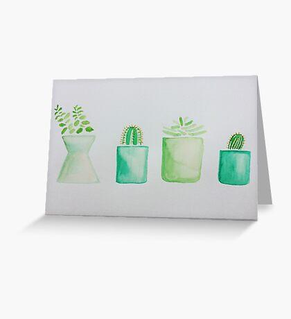 My Wee Cacti Pals Greeting Card