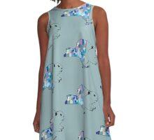 Newyork Beaver A-Line Dress
