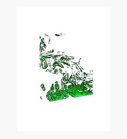 Green Smoke Photographic Print