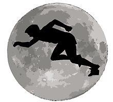 Runner Moon by kwg2200