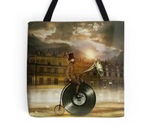 Music Man in the City Tote Bag