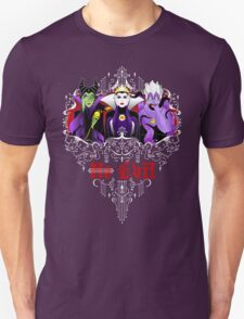 Three Wise Villains (Purple) T-Shirt