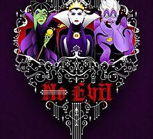 Three Wise Villains (Purple) by SwanStarDesigns