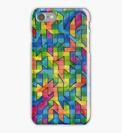 Jagged little colours iPhone Case/Skin