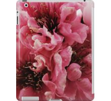 Peach Double Flower iPad Case/Skin