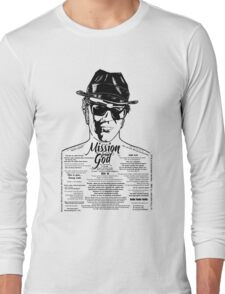Elwood Blues Brothers tattooed 'Dry White Toast' Long Sleeve T-Shirt