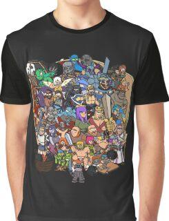 Clash Universe Graphic T-Shirt
