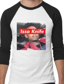 issa knife - 21 savage Men's Baseball ¾ T-Shirt
