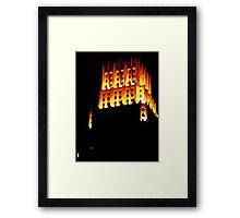 Golden Night Framed Print