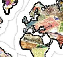 Stamp world Sticker