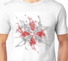 Resident Evil Umbrella Splatter Design Unisex T-Shirt