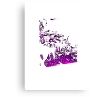 Purple Smoke Canvas Print