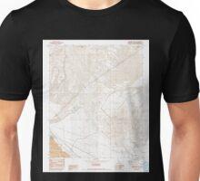 USGS TOPO Map California CA Sleeping Beauty 295225 1982 24000 geo Unisex T-Shirt