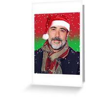 Jeffrey Dean Morgan- christmas Greeting Card