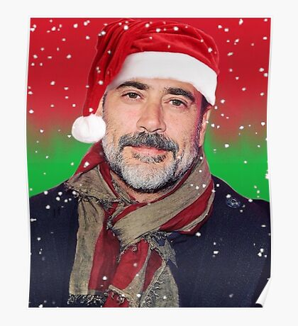 Jeffrey Dean Morgan- christmas Poster