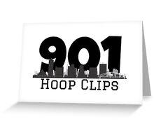 901HoopClips Logo Greeting Card